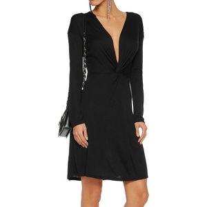 IRO knot long sleeve dress M / S